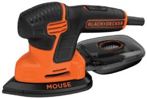 BLACK+DECKER Mouse Detail Sander, Compact Detail (BDEMS600)