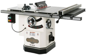 Hybrid Table Saw With Riving Knife